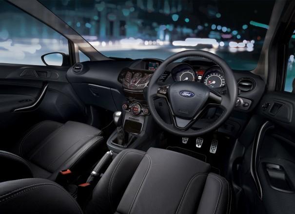interior Ford Fiesta Sport Match