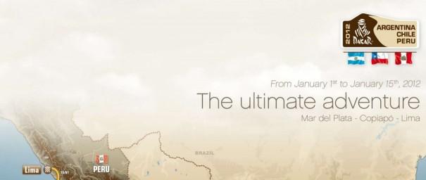 mapa recorrido dakar 2012