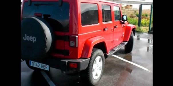 video prueba jeep wrangler