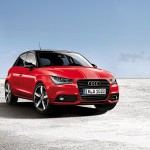 Audi A1 Amplified red
