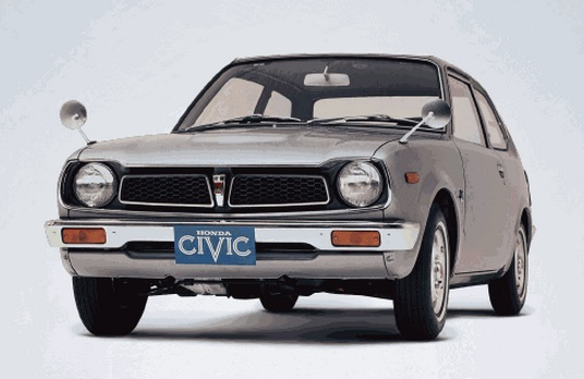 honda civic 1 generacion (1972 - 1979)