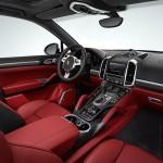 interior porsche cayenne turbo s 2012