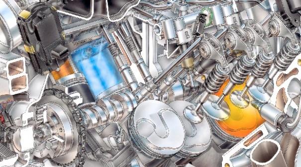 motor chevrolet corvette