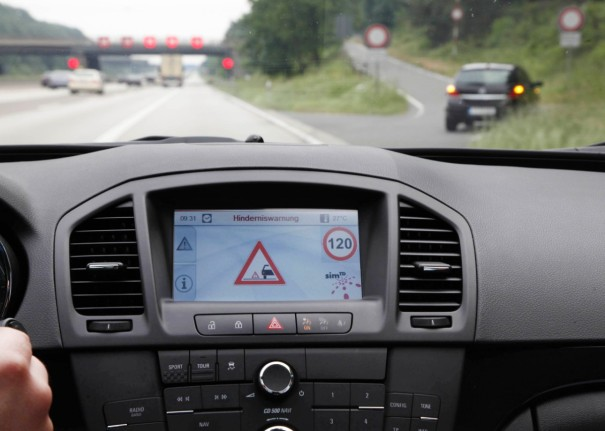 Opel Car to X Communication