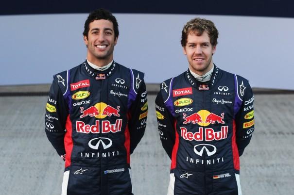 Daniel Ricciardo Sebastian Vettel