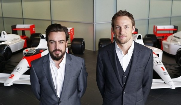 alonso button mclaren honda 2015