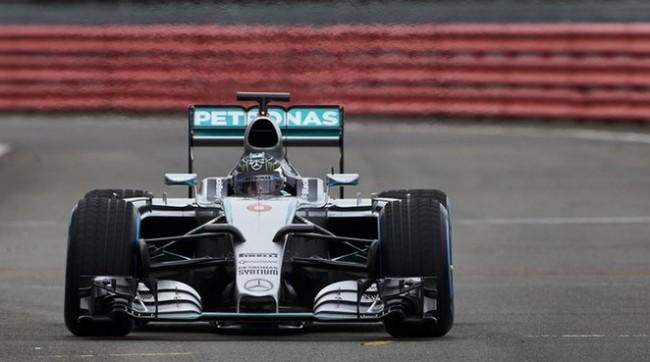 F1 W06 Hybrid frontal