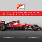 Ferrari SF15-T lado