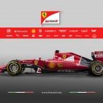Ferrari SF15-T lado 2