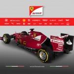 Ferrari SF15-T trasera