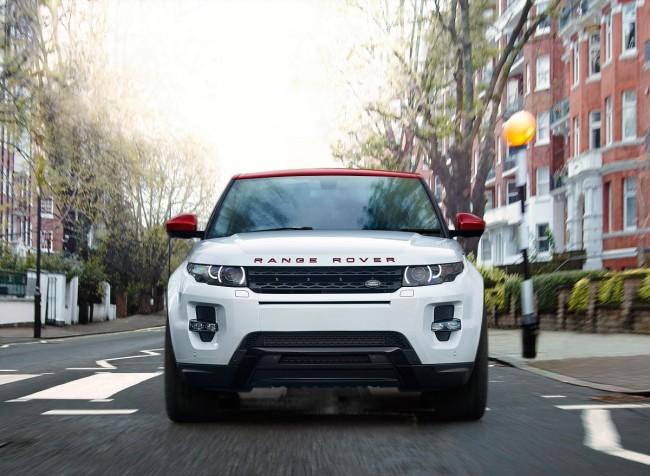 Range Rover Evoque British Edition frontal