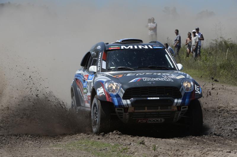 Vasilyev gana la etapa 5 dakar