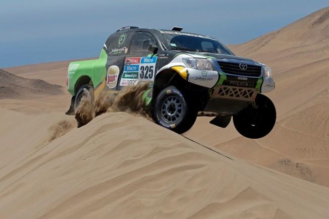 Yazeed Al-Rajhi Dakar 2015