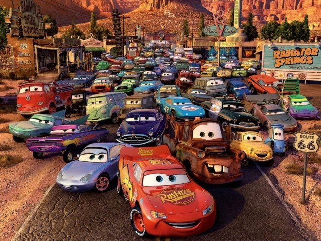 coches cars disney