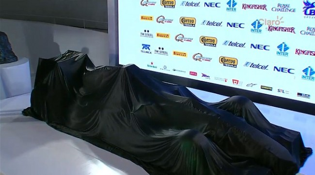 Presentacion Force India VJM08