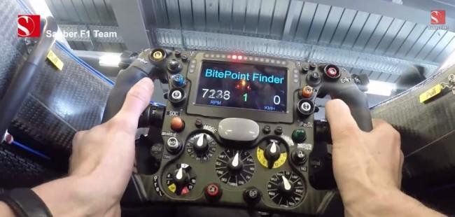 sauber f1 motor sonido 2015