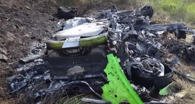 video accidente 313 kmh lamborghini