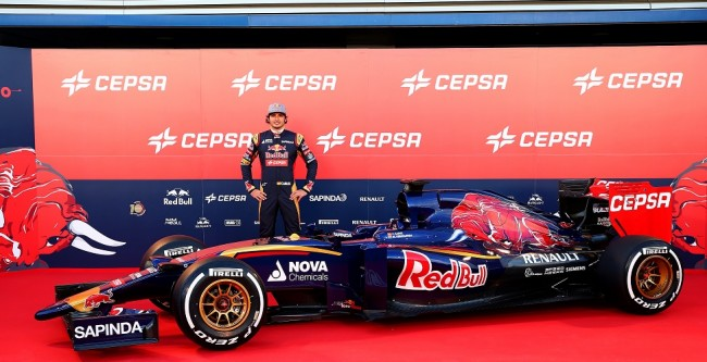 Carlos Sainz Jr Toro Rosso STR10