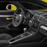 Cayman GT4 interior