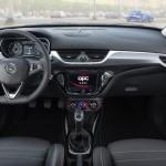 Corsa OPC 2015 interior