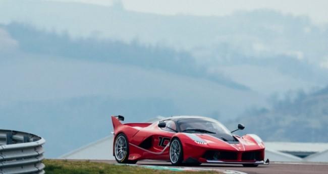 Ferrari FXX K Sebastian Vettel