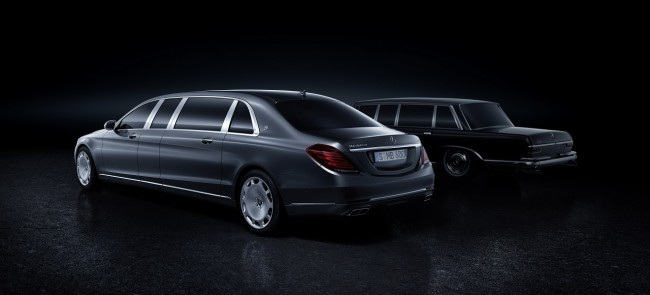 Mercedes Maybach Pullman 2015