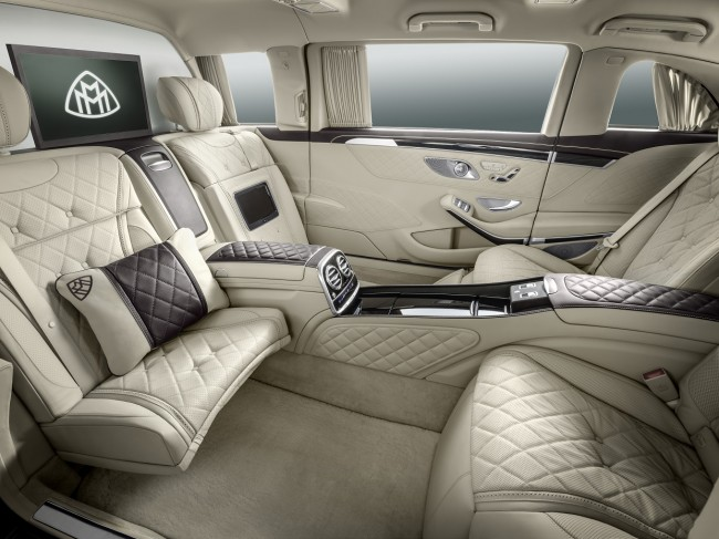 Mercedes Maybach Pullman 2015 interior