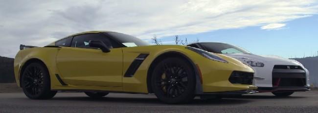 Nissan GTR Nismo VS Corvette Z06