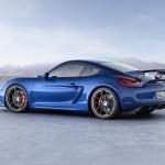 Porsche Cayman GT4 aleron