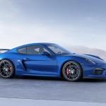 Porsche Cayman GT4 azul