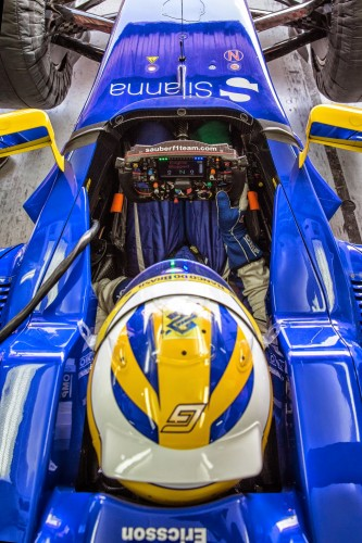Sauber C34 volante