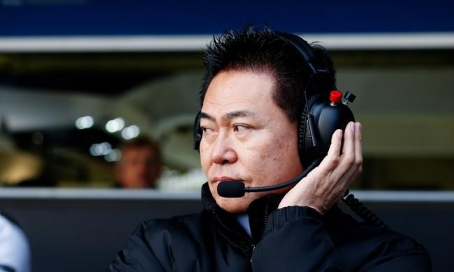 Yasuhisa Arai Honda 2015 F1