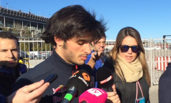 carlos sainz accidente
