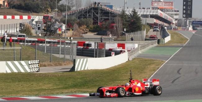 dias test f1 2015 circuito barcelona