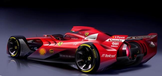 ferrari concept f1 2015