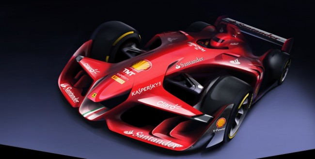 ferrari f1 concept 2015