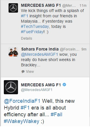 force india mercedes f1