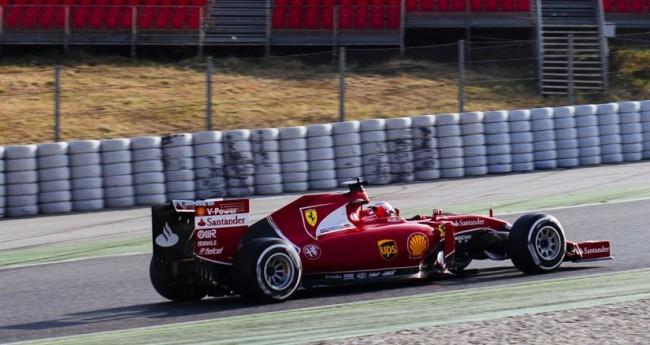 kimi raikkonen barcelona f1 2015
