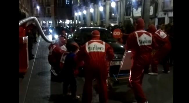mecanicos ferrari carnaval valladolid 2012