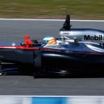 test 1 Fernando Alonso