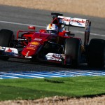 test 1 Vettel