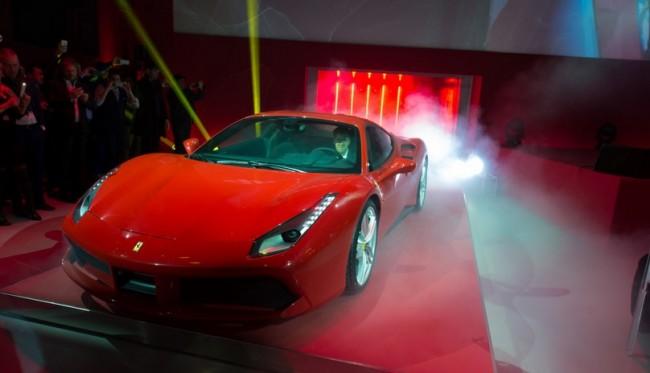 Ferrari 488 GTB vettel ginebra 2015