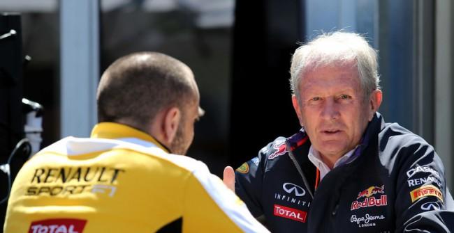 Helmut Marko Red Bull 2015
