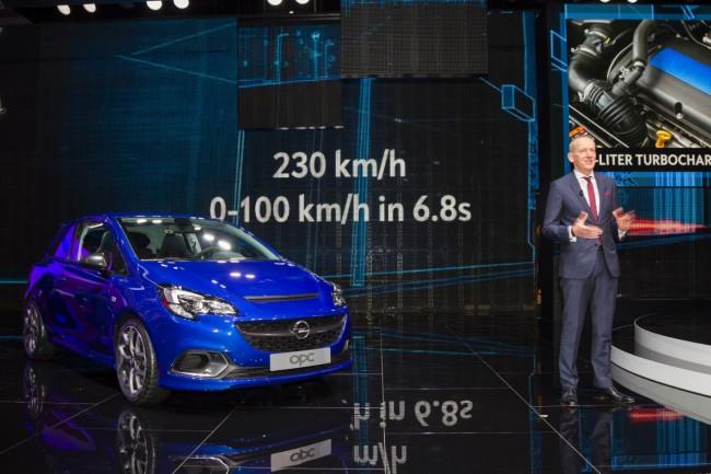 Opel Corsa OPC Ginebra 2015