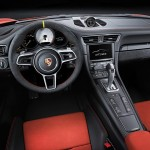 Porsche 911 GT3 RS 2015 interior