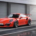Porsche 911 GT3 RS rojo