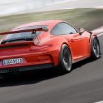 Porsche 911 GT3 RS trasera