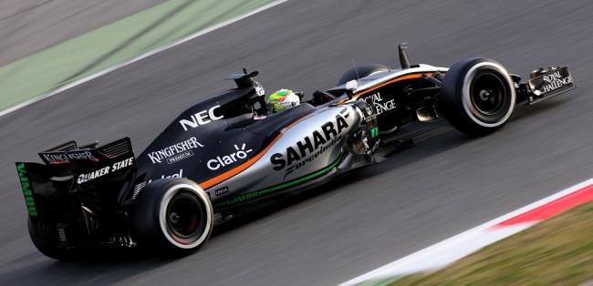 Sergio Perez Force India 2015