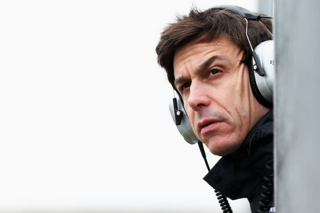 Toto Wolff Mercedes F1 2015