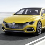 Volkswagen Sport Coup Concept GTE frontal